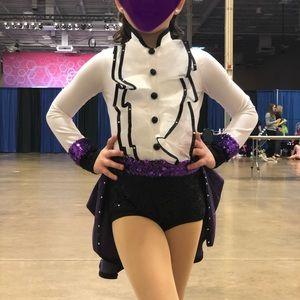 Prince inspired dance costume